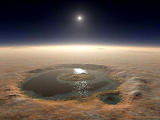 Fesenkov Crater