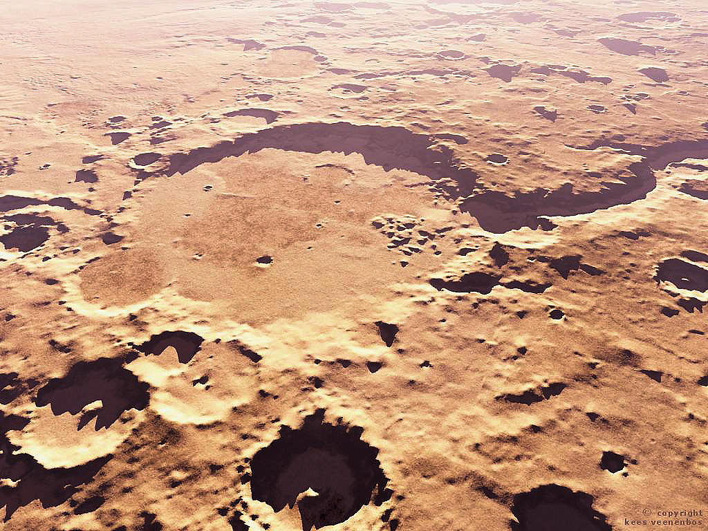 photos of gusev crater