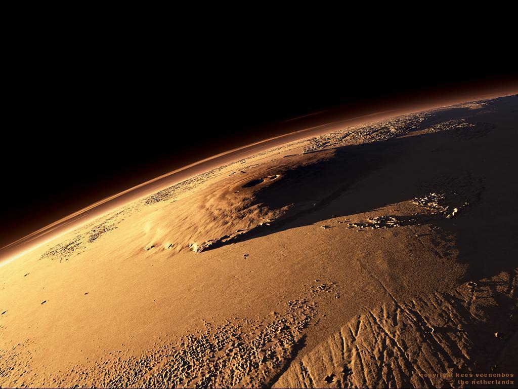 planet mars olympus mons - photo #15