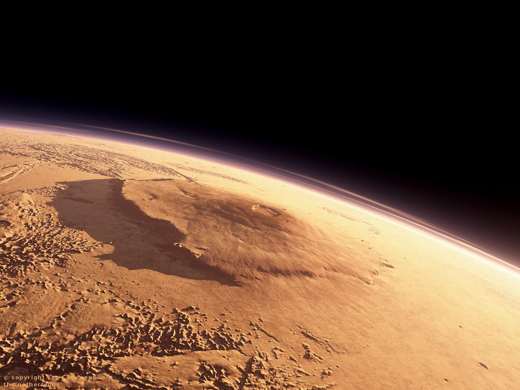 planet mars olympus mons - photo #7